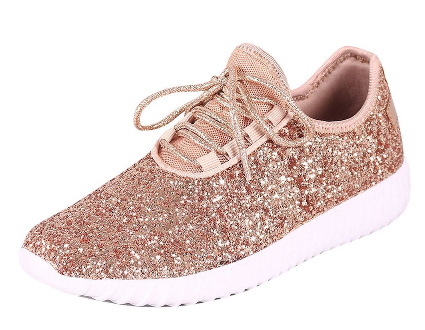 Rose Gold Sneakers on Amazon   POPSUGAR