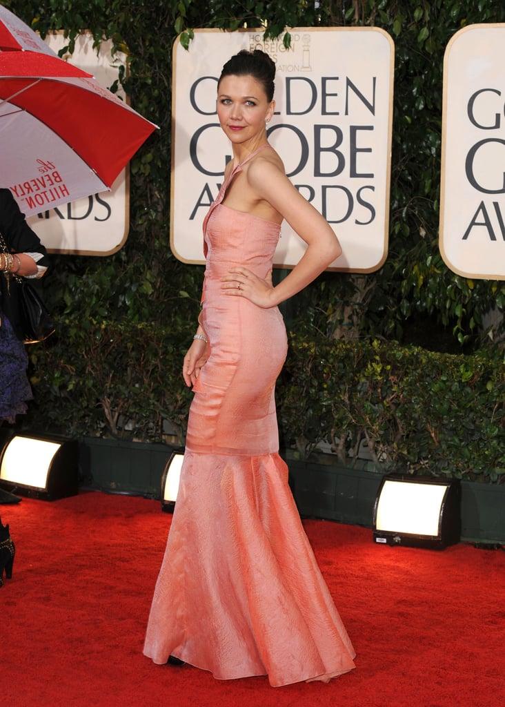 Photos of Maggie Gyllenhaal at Golden Globes