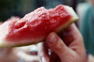 Rum-Spiked Watermelon