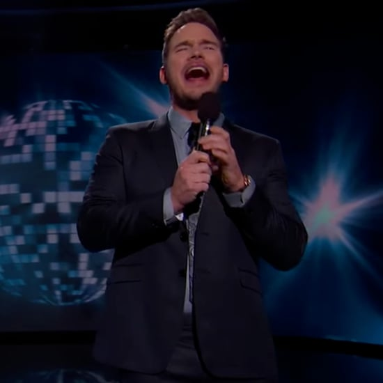 Chris Pratt and Chris Stapleton Sing Duet Jimmy Kimmel Live