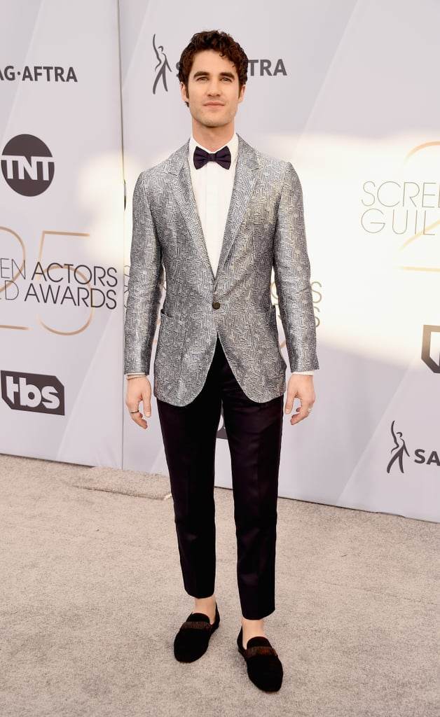 Darren Criss at the 2019 SAG Awards