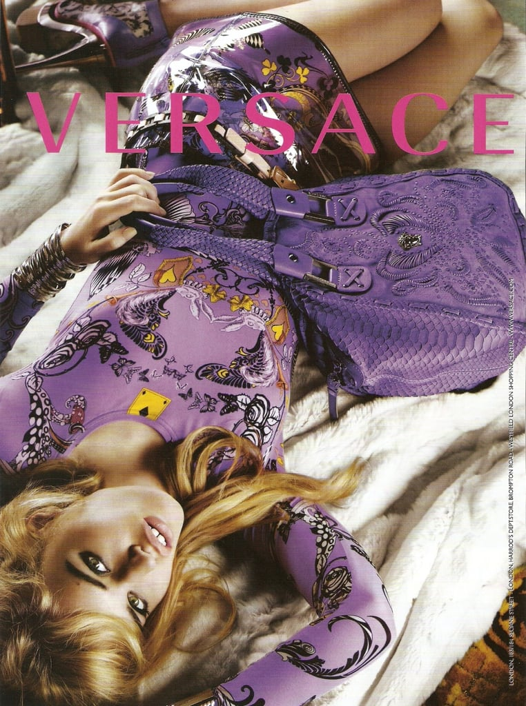 Fab Ad: More Georgia May Jagger for Versace