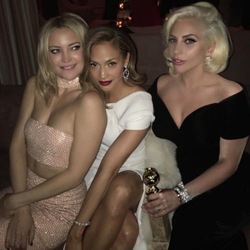 Best Instagrams From the Golden Globes 2016