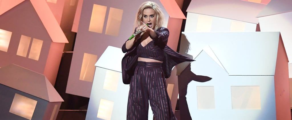 Katy Perry's Brit Awards Performance Brought Down the House — Literally