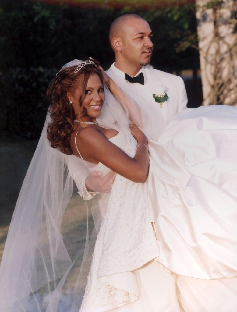 Toni Braxton's True-Blue Wedding