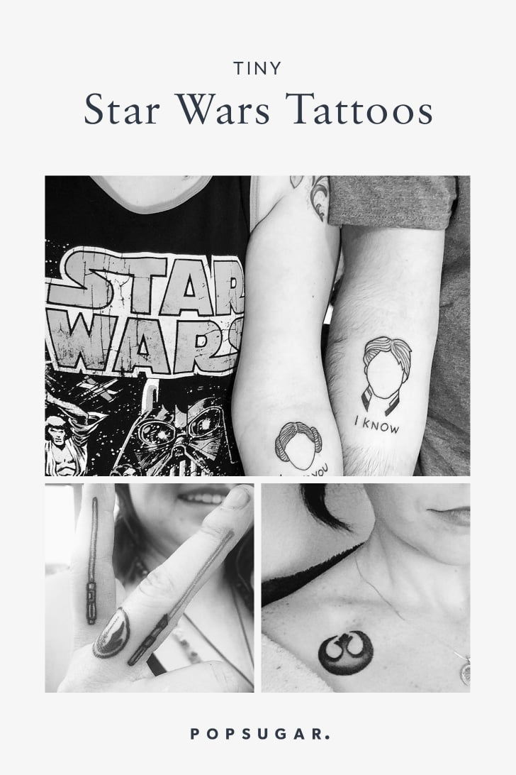 Tiny Star Wars Tattoos