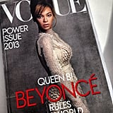 The latest issue of Vogue features Queen Beyoncé.