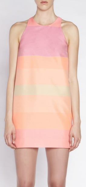 This dress pretty much ticks off all my check points — subtly sexy, peachy-pink, short but not indecent and desk-to-dinner appropriate. Love it, want it, need it. — Marisa, Publisher. Dress, $499, Camilla and Marc