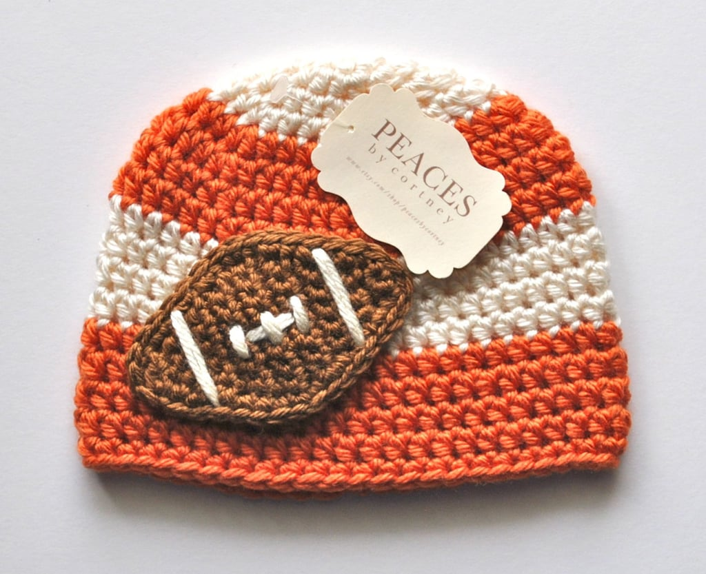 Fitting for game days, this hat ($28) is just the accessory for football season.