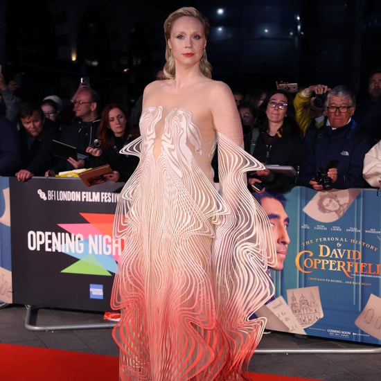 Gwendoline Christie in an Iris van Herpen Illusion Dress