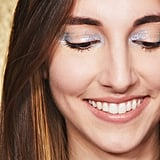 Glitter Strobing on Eyes: Fair Skin Tone