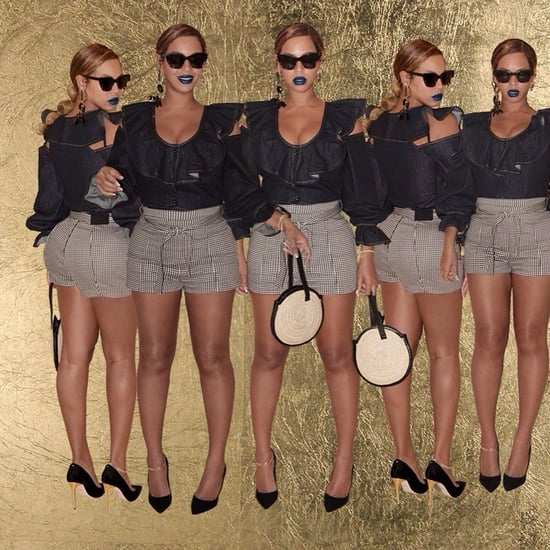 Beyonce Wearing Parme Marin Bag on Instagram