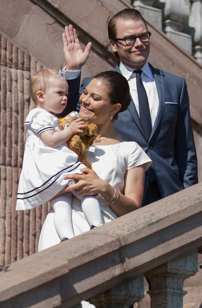 Princess Victoria gave her daughter a sweet glance.