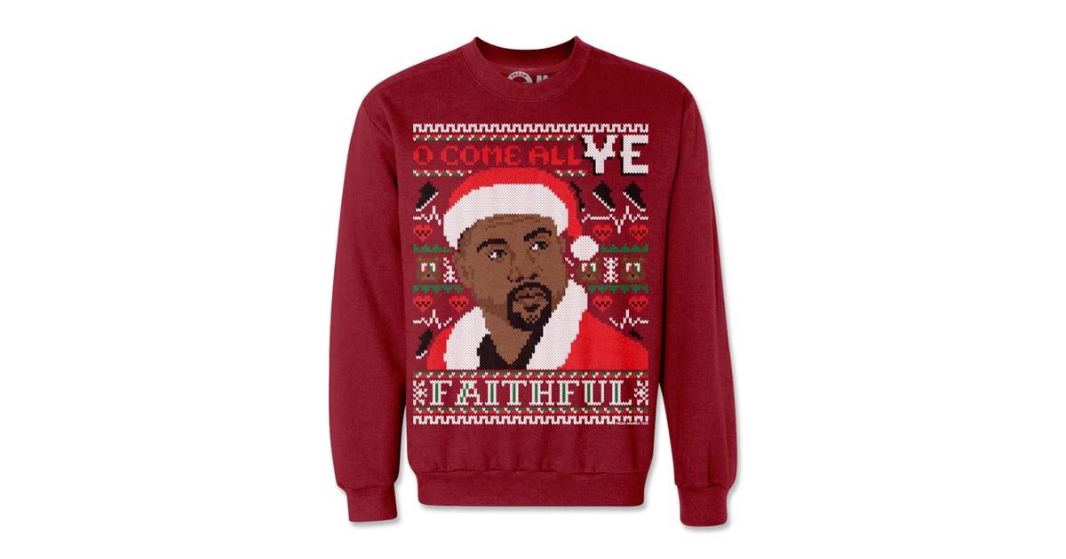 O Come All Ye Faithful Ugly Christmas Sweatshirt ($50) | Kim ...