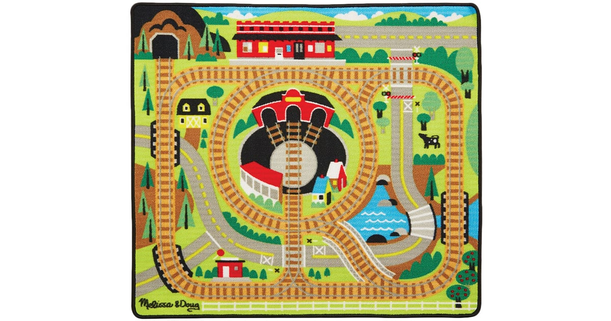 Melissa Amp Doug Round The Rails Train Rug Train Gifts For