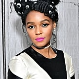 Janelle Monáe With Googly Eyes in Her Hair