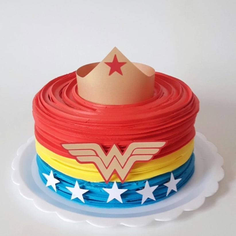 Wonder Woman Cakes Popsugar Family