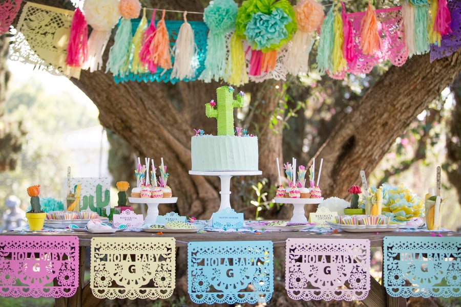 A Cactus Baby Shower