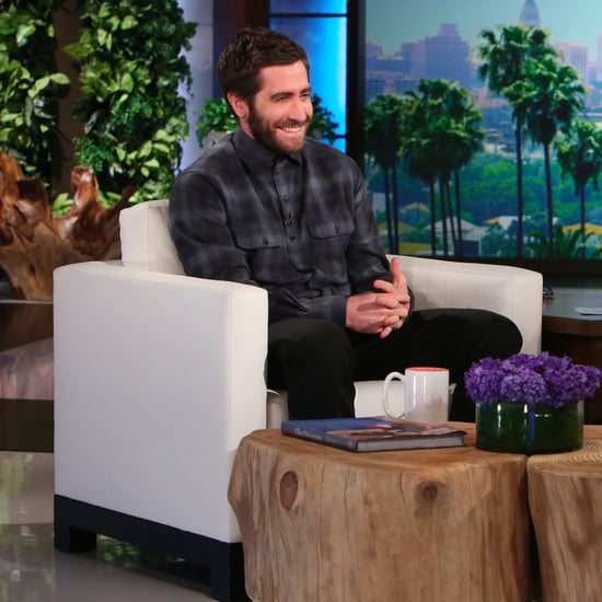 Jake Gyllenhaal on The Ellen DeGeneres Show November 2016