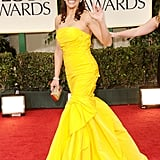 Paula Patton at the Golden Globes.