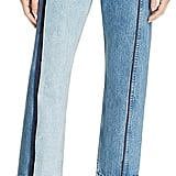 Rag & Bone 'Magnolia' Two-Tone Crop Jeans ($425)