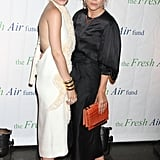 Mary-Kate Olsen and Ashley Olsen were out in NYC for the Fresh Air Fund's Spring Gala.