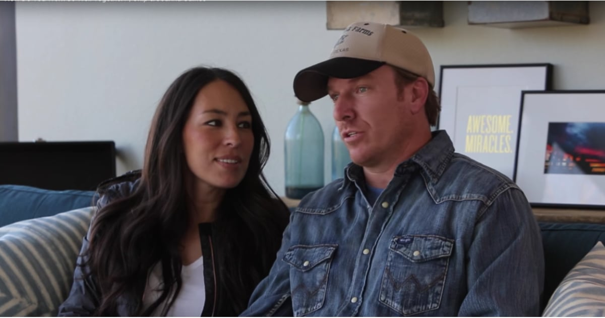 why chip and joanna gaines work together so well popsugar home. Black Bedroom Furniture Sets. Home Design Ideas