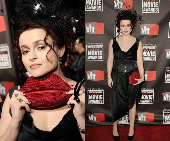Helena Bonham Carter at 2011 Critics' Choice Awards