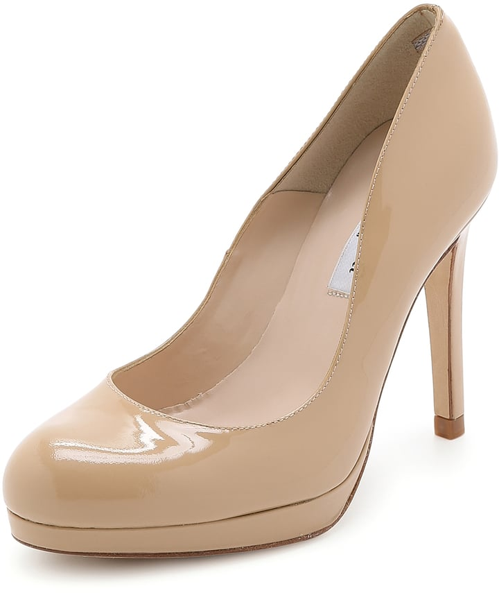 L.K. Bennett Sledge Patent Pumps ($345)
