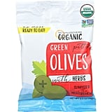 Mediterranean Organic Green Olives Pitted
