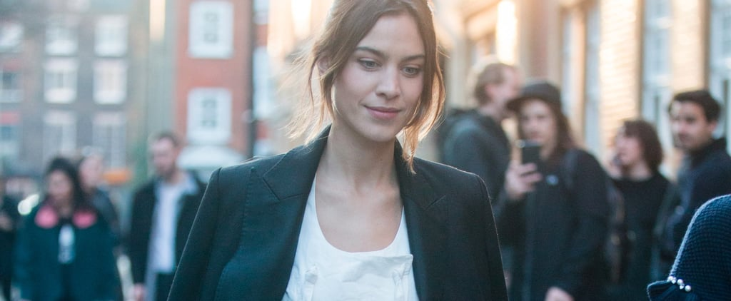 Alexa Chung Has Worked Out How to Dress For Cooler Weather, Let's All Take Note