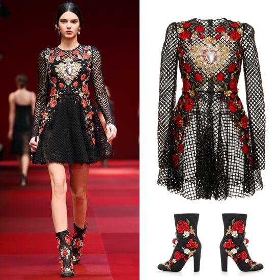 Shop Kendall Jenner's Dolce & Gabbana Runway Look