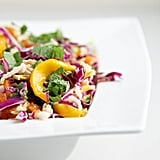 Spicy Mango, Papaya, and Cabbage Slaw