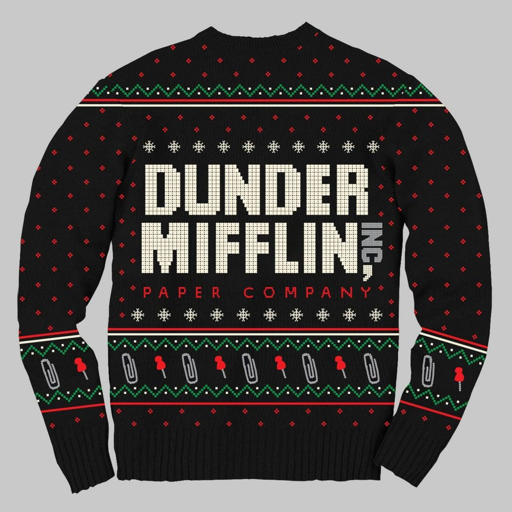 Dunder Mifflin Ugly Holiday Sweater