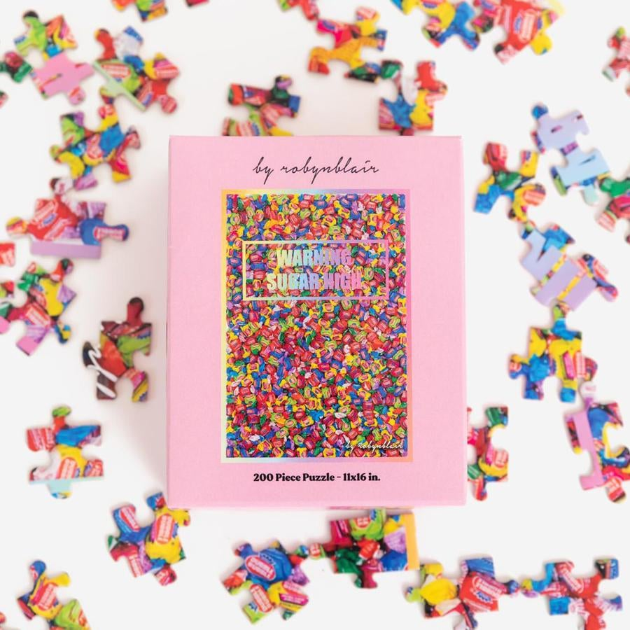 By Robyn Blair Warning Sugar High Puzzle