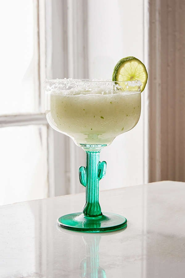 Urban Outfitters Cactus Margarita Glass