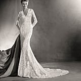 Pronovias Elva Mermaid Wedding Dress (price upon request)