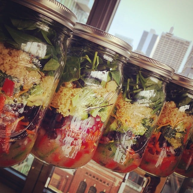Lose Weight With These Mason-Jar Salads