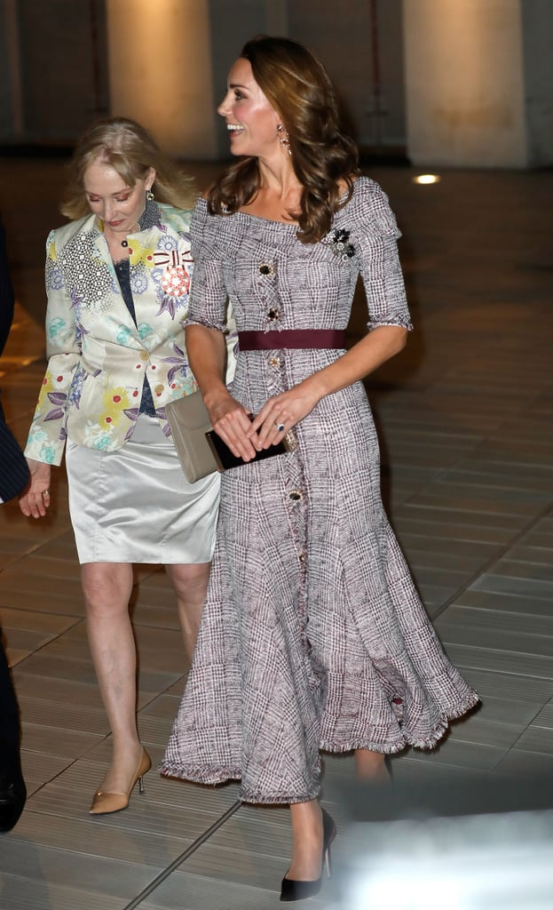 Kate Middleton Plaid Erdem Dress October 2018