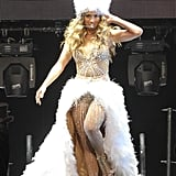 Jennifer Lopez Performing at the American Airlines Arena in 2012