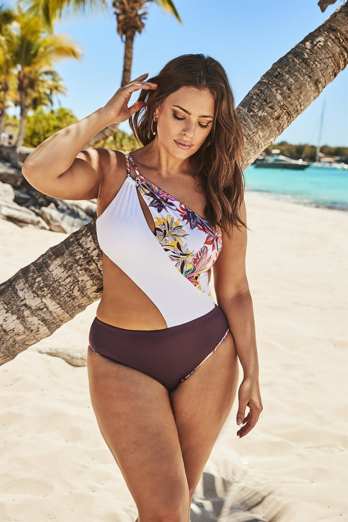 5009bc608a0 Ashley Graham x Swimsuits For All Vertex One Shoulder One Piece ...