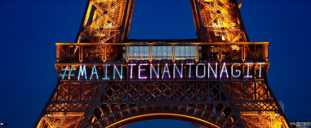 Paris Celebrated International Women's Day by Projecting a Powerful Message on the Eiffel Tower