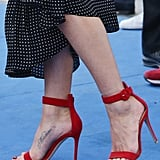 Jennifer Aniston Tibi Dress at 2016 Giffoni Film Festival