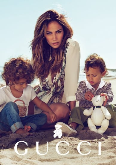 Pictures: Jennifer Lopez and Her Twins in Gucci Ads