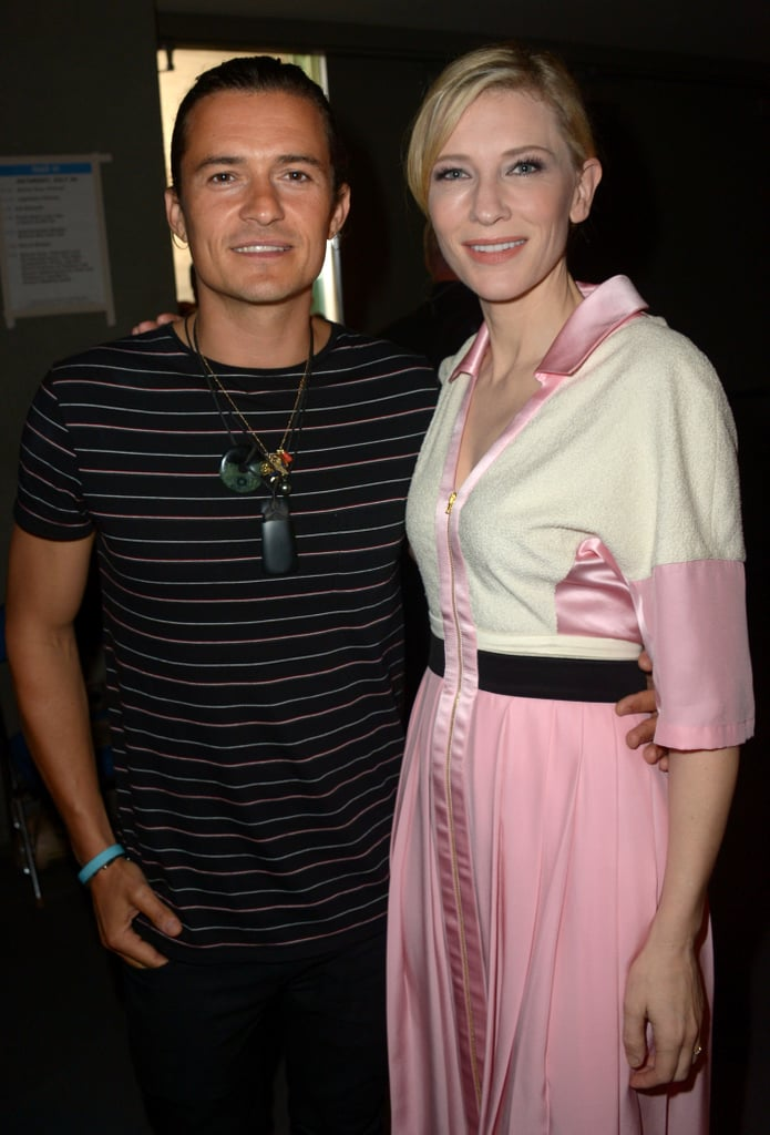 Orlando Bloom and Cate Blanchett made one gorgeous pair of costars while promoting The Hobbit: The Battle of the Five Armies on Saturday.
