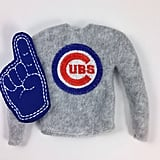 Chicago Cubs Elf on the Shelf Sweater