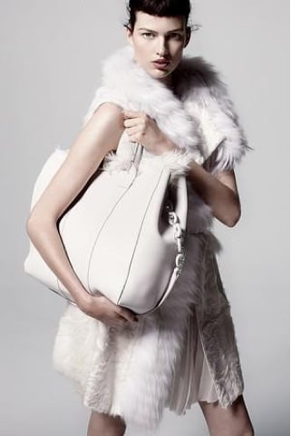 J. Mendel proves that an all-white Winter is possibly the most luxurious thing we've seen in a long time.
