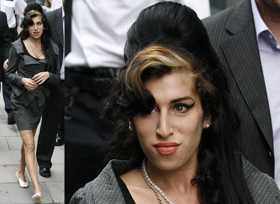 Amy Winehouse At Court To Face Assault Charges In London
