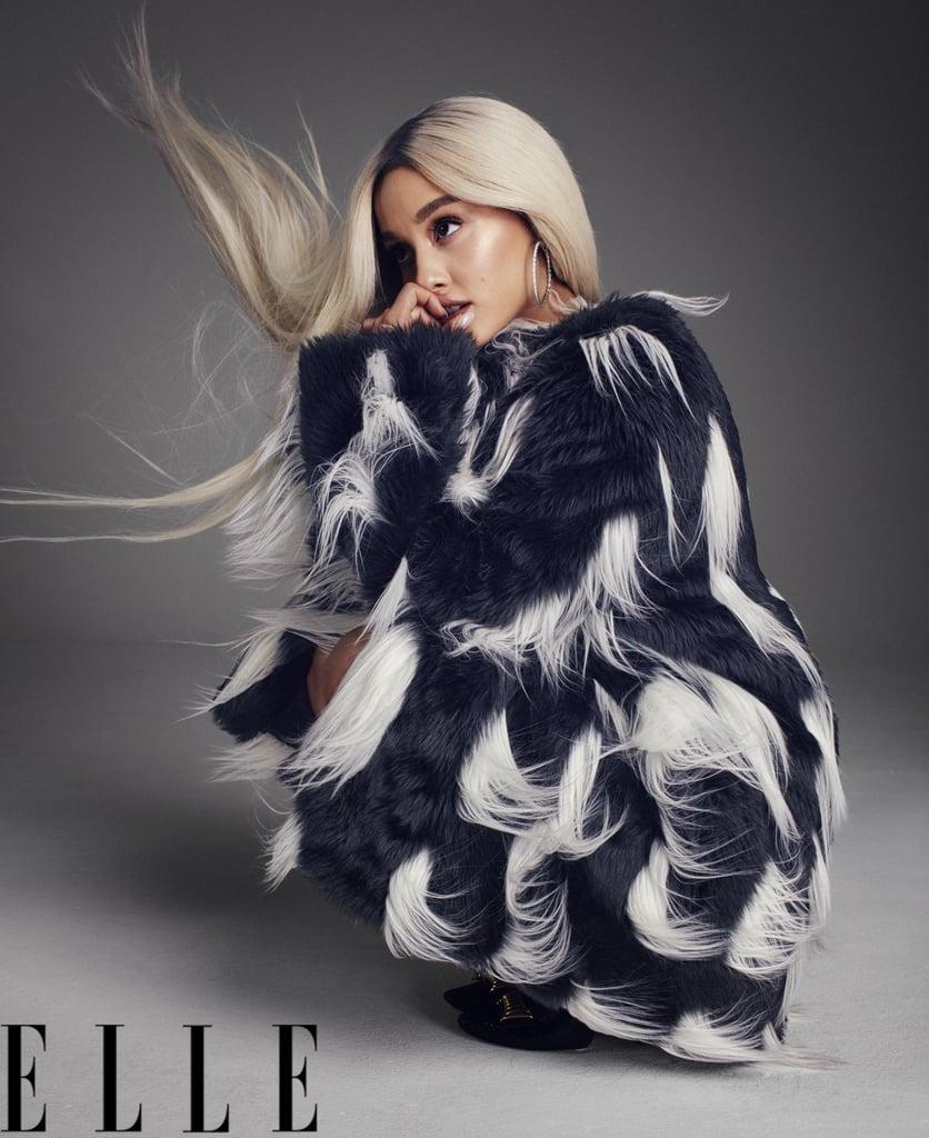 Ariana Grande Elle Cover Long Hair August 2018