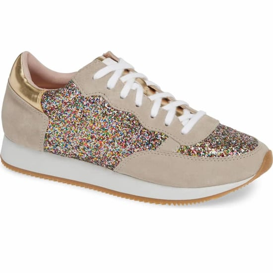 Kate Spade New York Glitter Sneakers